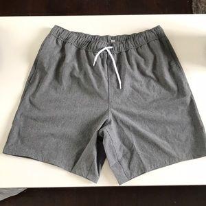 ASOS grey swim trunks NWT sz M